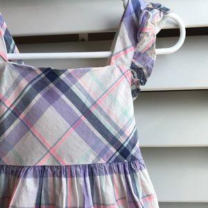 Osh Kosh lavender plaid dress 3T